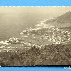 Postales: POSTAL DE LA GUARDIA ( PONTEVEDRA): PANORÁMICA DESDE EL MONTE SANTA TECLA. Lote 110249099