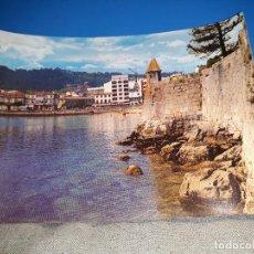 Postales: POSTAL BAYONA MURALLA PARADOR Y VISTA PARCIAL EDITORIAL ARRIBAS Nº16 AÑOS 70*. Lote 112660840