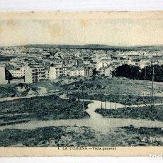 Postales: ANTIGUA POSTAL DE LA CORUÑA. GALICIA. VISTA GENERAL. FOT. L. ROISIN. SIN CIRCULAR. Lote 111324399