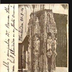 Postales: SANTIAGO CAPILLA DEL REAL HOSPITAL ANTIGUA TARJETA POSTAL FERRER Nº127 CA 1900 USADA. Lote 111826219