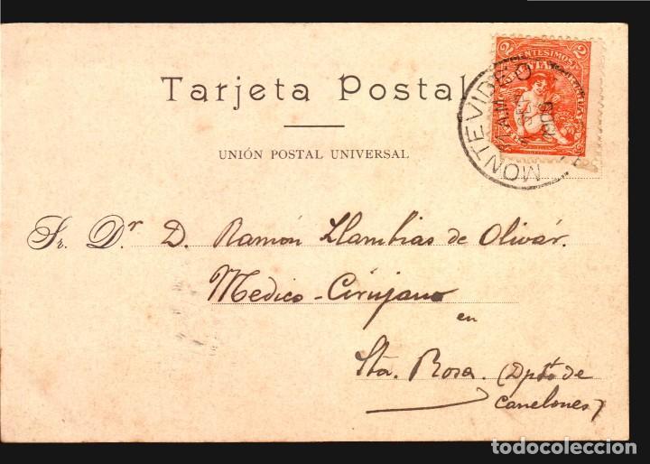 Postales: SANTIAGO CAPILLA DEL REAL HOSPITAL ANTIGUA TARJETA POSTAL FERRER Nº127 CA 1900 USADA - Foto 2 - 111826219