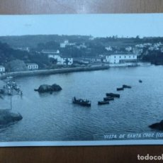 Postales: POSTAL VISTA DE SANTA CRUZ (CORUÑA) FOTO FERRER CIRCULADA 1963 14,5 X 9 CM (APROX). Lote 112508635
