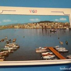 Postales: POSTAL VIGO VISTA DESDE EL PUERTO DE BOUZAS EDITORIAL ARRIBAS Nº232 AÑOS 70*. Lote 112739663