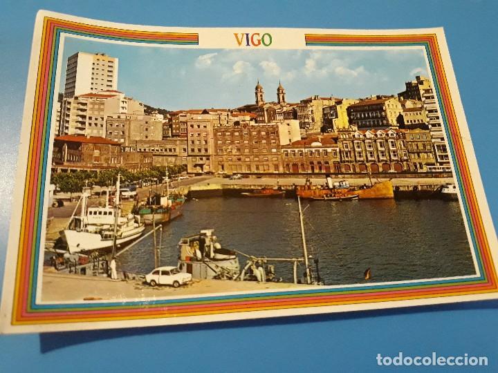 POSTAL VIGO AVENIDA DE CANOVAS DEL CASTILLO EDITORIAL ARRIBAS Nº165 AÑOS 70* (Postales - España - Galicia Moderna (desde 1940))