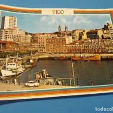 Postales: POSTAL VIGO AVENIDA DE CANOVAS DEL CASTILLO EDITORIAL ARRIBAS Nº165 AÑOS 70*. Lote 112740115