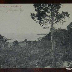Postales: ALREDEDORES DE FERROL, CHANTEIRO, PAPELERIA DE EL CORREO GALLEGO, CIRCULADA. Lote 113057327