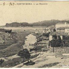 Postales: POSTAL PONTEVEDRA LA MOUREIRA EDITORIAL EJG ESCRITA 18 AGOSTO 1907 Y CON SELLO AMBULANTE. Lote 113108799