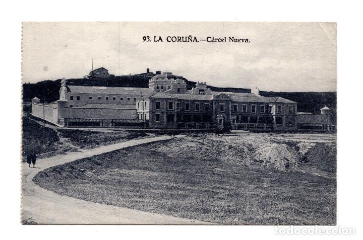 LA CORUÑA. CÁRCEL NUEVA. LIBRERIA LINO PEREZ (Postales - España - Galicia Antigua (hasta 1939))