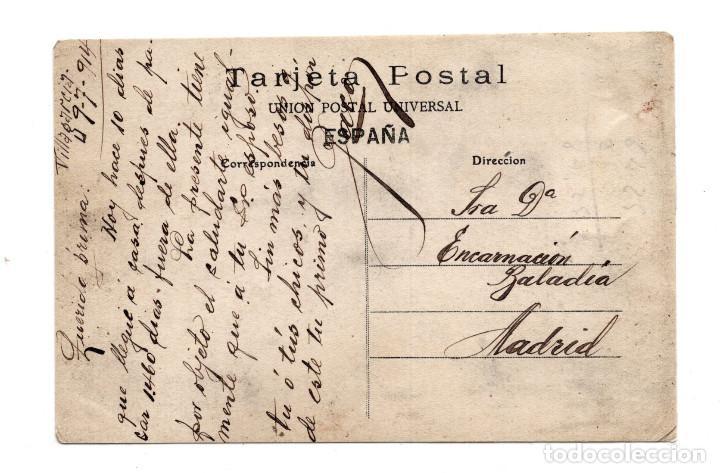Postales: VILLAGARCIA DE AROSA - LAVADEROS - PEDRO ABAD ABALO 6 - CIRCULADA 1914 - Foto 2 - 115032387