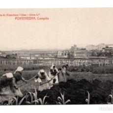 Postales: PONTEVEDRA - CAMPIÑA . PAPELERÍA FRANCISCO VIÑAS. FOTOTIPIA THOMAS. Lote 115035071