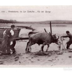 Postales: ALREDEDORES DE LA CORUÑA. RIA DEL BURGO. ED. UNIQUE. SIN CIRCULAR. Lote 115040791
