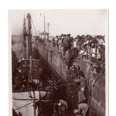 Postales: VIGO- 1525 - FAENAS DE PESCA EN LA RIBERA DEL BERBES - UNIQUE. Lote 115073511