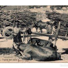 Postales: GALICIA.-. TIPOS DEL PAIS.- CIRCULADA EN 1921. Lote 115075203