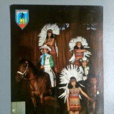 Postales: POSTAL ORENSE ESCUELA NACIONAL DEL CIRCO FAR WEST. Lote 115324299