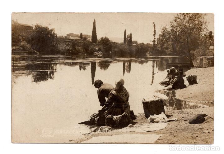 GALICIA.- ORILLAS DEL CABE.- MONFORTE - FOTO FERRER - POSTA FOTOGRÁFICA (Postales - España - Galicia Antigua (hasta 1939))