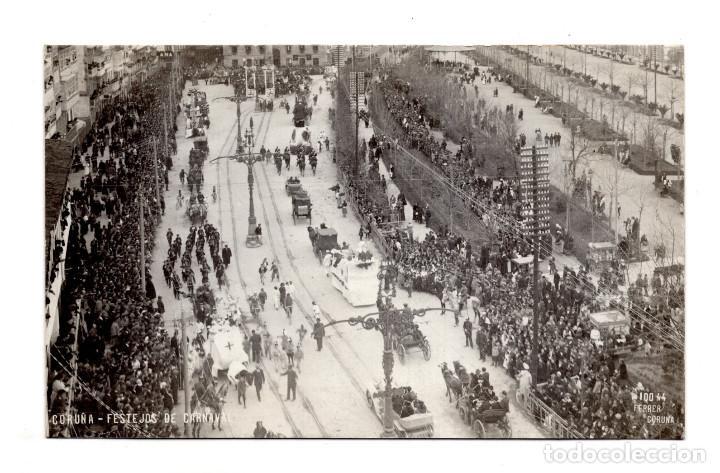 GALICIA.- FESTEJOS DE CARNAVAL- FOTO FERRER - POSTA FOTOGRÁFICA (Postales - España - Galicia Antigua (hasta 1939))