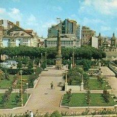 Postales: EL FERROL - 45 JARDINES DE HERRERA - OBELISCO A CHURRUCA. Lote 115678663