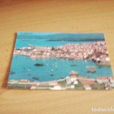 Postales: EL GROVE ( PONTEVEDRA ) VISTA PARCIAL AEREA. Lote 116588187