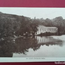 Postales: ANTIGUA POSTAL DE LUGO. ORILLAS DEL MIÑO. HELIOTIPIA.. Lote 116660571
