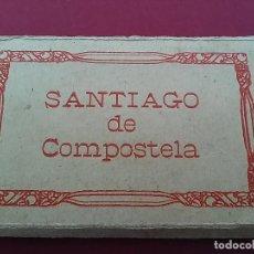 Postales: ALBÙM ACORDEÓN 10 VISTAS DE SANTIAGO DE COMPOSTELA.. Lote 116690287