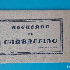 Postales: RECUERDO DE CARBALLINO - ANDRÉS FERNÁNDEZ GONZÁLEZ - CARPETILLA CON ACORDEÓN 6 POSTALES. Lote 116810055
