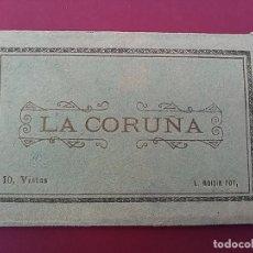 Postales: ALBUM ACORDEÓN POSTALES DE LA CORUÑA.. Lote 116836607