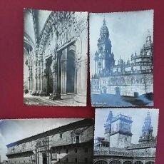 Postales: LOTE DE 4 POSTALES DE SANTIAGO DE COMPOSTELA.. Lote 116837207