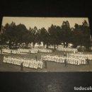 Postales: EL FERROL LA CORUÑA ESCUELA DE LA ARMADA ASPIRANTES GRUPOS POSTAL FOTOGRAFICA HACIA 1912 . Lote 116954899