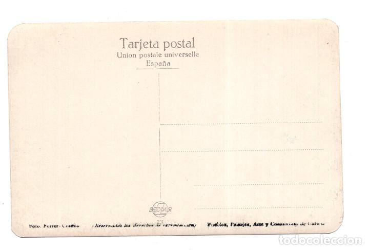 Postales: BETANZOS (CORUÑA).- VISTA PARCIAL. POSTAL FOTOGRÁFICA. FOTO FERRER - Foto 2 - 117245431