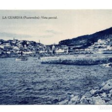 Postales: LA GUARDIA (PONTEVEDRA).- VISTA PARCIAL. Lote 117394987