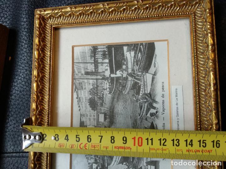 lote 4 cuadros antiguas postales la coruña 21,5 - Comprar Postales ...