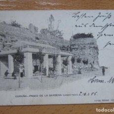 Postales: CORUÑA PASEO DE LA DÁRSENA ( LAVADERO PÚBLICO ) FOGB FERRER Nº 7. . Lote 118174219