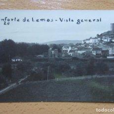 Postales: POSTAL FOTOGRAFICA DE MONFORTE DE LEMOS (LUGO)-VISTA GENERAL, 20. Lote 118176763