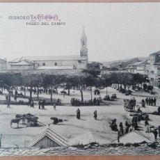 Postales: POSTAL GALICIA RIBADEO PASEO DEL CAMPO LUGO EDIC T. Y P. PERFECTA CONSERVACION CORUÑA VIGO ORENSE. Lote 124011514