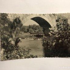 Postales: MONDARIZ (PONTEVEDRA) POSTAL. NO.1029 CASCADA EN EL PUENTE (H.1950?). Lote 118556080