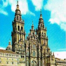 Postales: SANTIAGO DE COMPOSTELA, CATEDRAL, FACHADA DEL OBRADOIRO. Lote 118569763