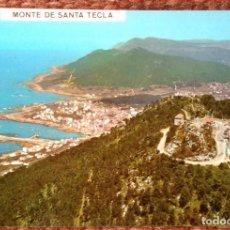 Postales: LA GUARDIA - PONTEVEDRA - MONTE SANTA TECLA. Lote 118639243