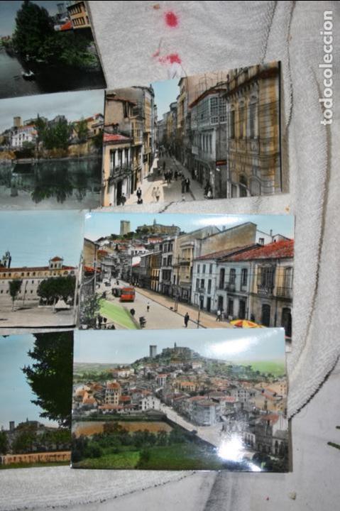 Postales: Lugo, lote de 10 postales coloreadas de Monforte de Lemos ediciones arribas. sin circular - Foto 2 - 118855775