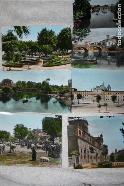 Postales: Lugo, lote de 10 postales coloreadas de Monforte de Lemos ediciones arribas. sin circular - Foto 3 - 118855775