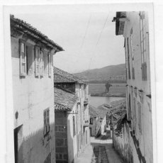 Postales: GALICIA. TUY (PONTEVEDRA). CANICOUBA. AL FONDO PORTUGAL. FOTOGRAFICA.. Lote 118882123