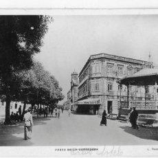 Postales: GALICIA. TUY (PONTEVEDRA). PASEO DE LA CORREDERA (¿CALVO SOTELO?). FOTOGRAFICA.. Lote 118882363