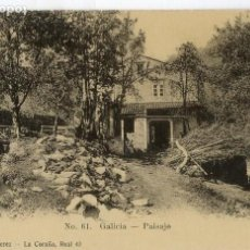 Postales: GALICIA. PAISAJE.. Lote 118886051