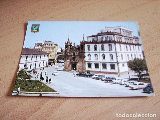 LUGO -- JARDINES E IGLESIA SAN FROILAN (Postales - España - Galicia Moderna (desde 1940))