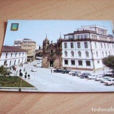Postales: LUGO -- JARDINES E IGLESIA SAN FROILAN. Lote 119197511