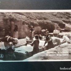 Postales: LA CORUÑA - ALREDEDORES - UN LAVADERO EN LOS CASTROS - FOTOGRAFICA - VER REVERSO - (52.758) . Lote 119234371