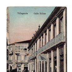 Postales: VILLAGARCÍA (PONTEVEDRA).- CALLE BILBAO. Lote 119618039