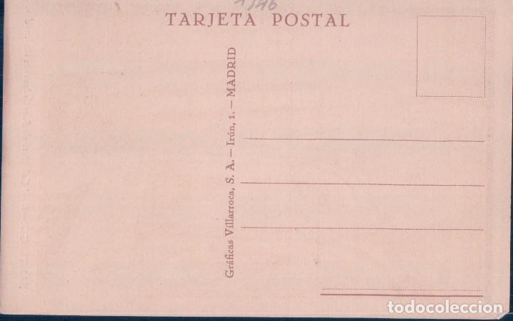 Postales: POSTAL SANTIAGO - REAL COLEGIATA DE SAR - COLUMNAS INCLINADAS - GRAFICAS VILLARROCA - Foto 2 - 119634207