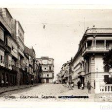 Postales: TARJETA POSTAL FERROL. CAPITANIA GENERAL DE LOS CANTONES. ED. GALLEGO. Lote 119948344