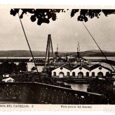 Postais: TARJETA POSTAL EL FERROL DEL CAUDILLO. A CORUÑA. VISTA PARCIAL DEL ARSENAL. Nº 3. ED. ARRIBAS. Lote 120301651