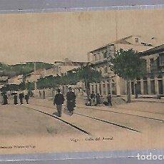Postales: TARJETA POSTAL DE VIGO - CALLE DEL ARENAL. EDICIONES EL GALLO. Lote 120906935